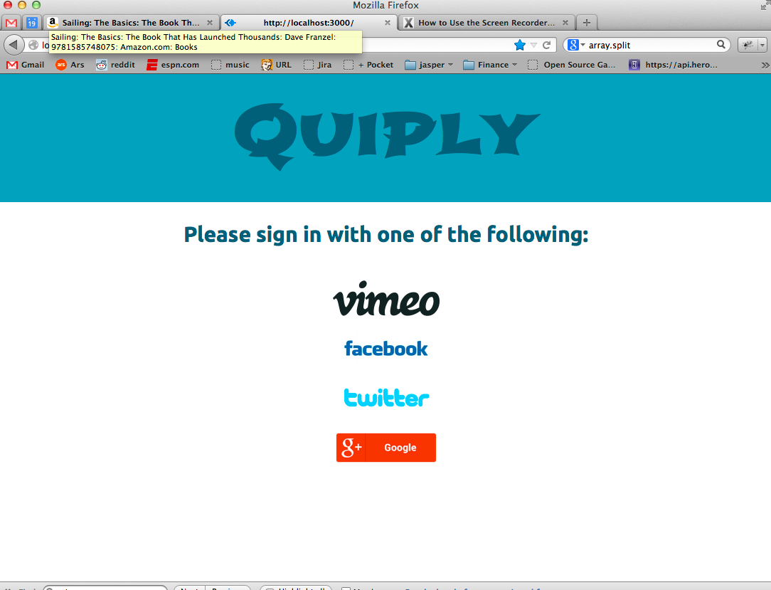 Quiply login